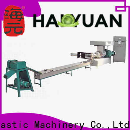 New PE recycling machine machine for business for fast food