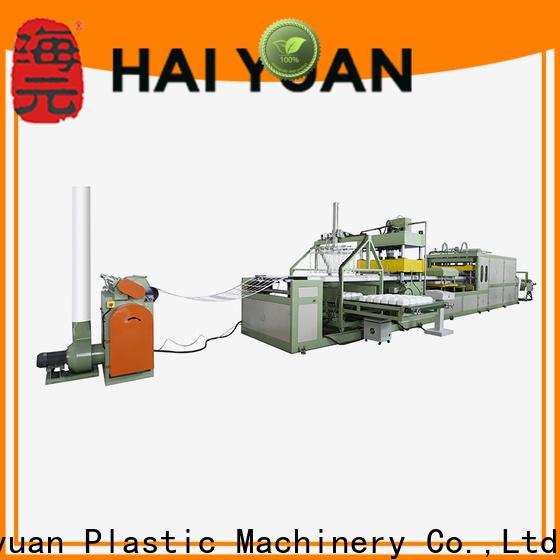 Haiyuan High-quality thermocol plate machine price company for fast food box