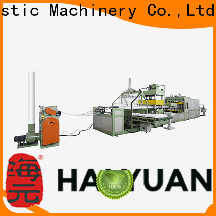 Haiyuan tray absorbent tray plate machine for business for take away food
