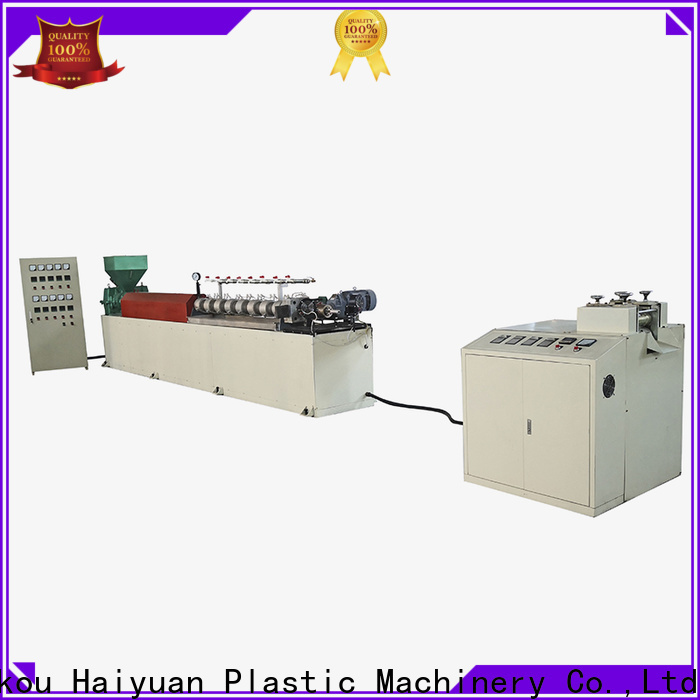 Haiyuan Custom epe foam pipe machine manufacturers for take away food