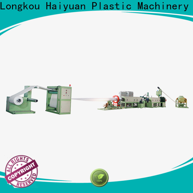 Haiyuan ps foam dish machine supply for take away food