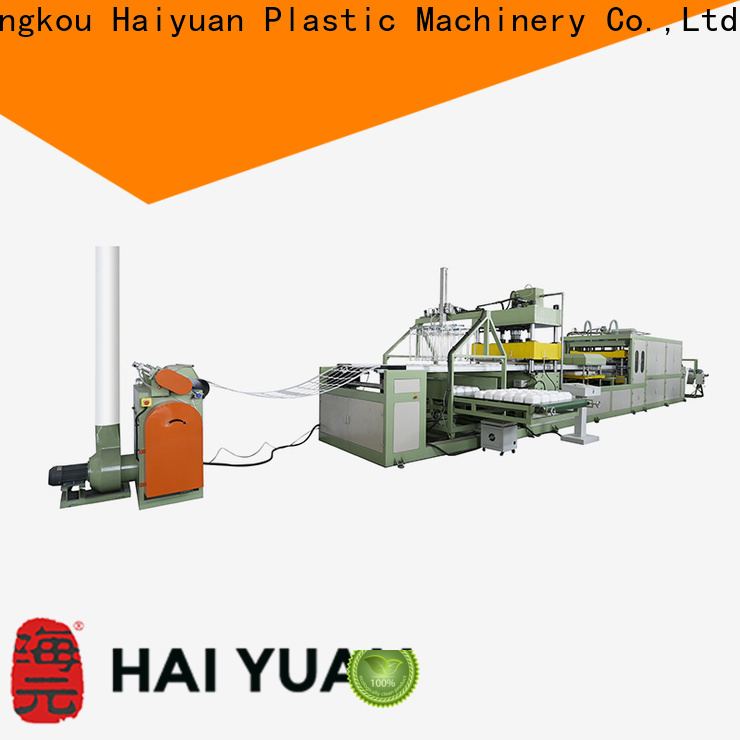 Latest foam absorbent tray making machine making supply for fast food