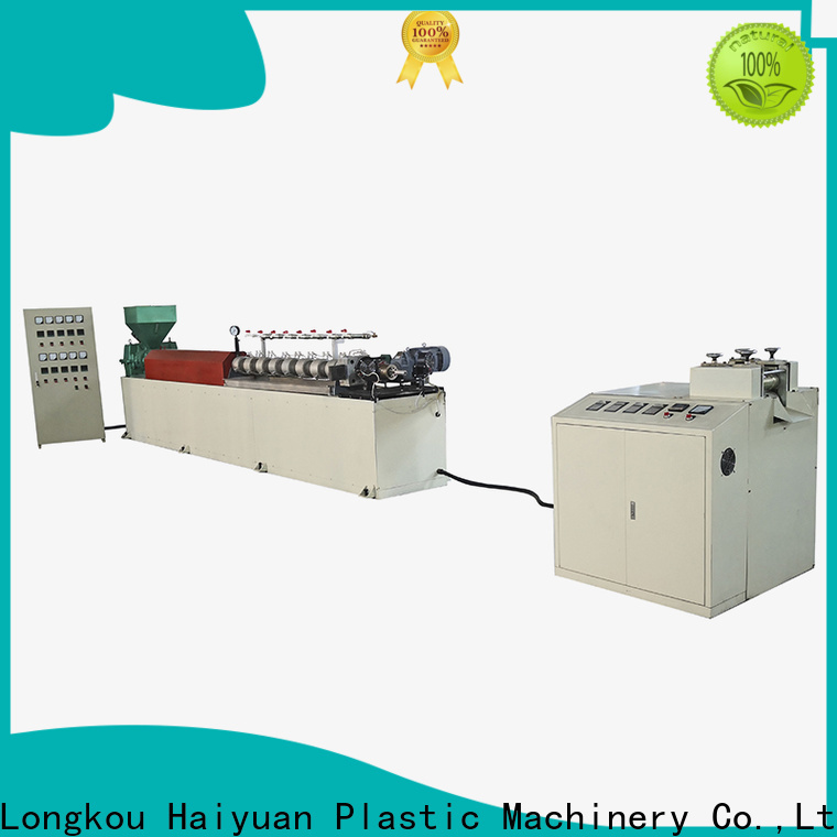 Haiyuan New epe foam net extrusion line factory for food box