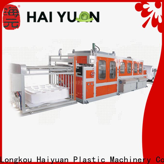 Haiyuan box buy vacuum forming machine supply for fast food