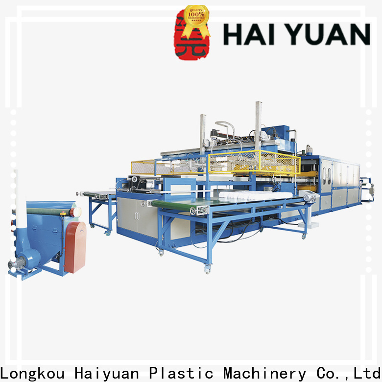 Top semi automatic vacuum forming machine psp factory for take away food
