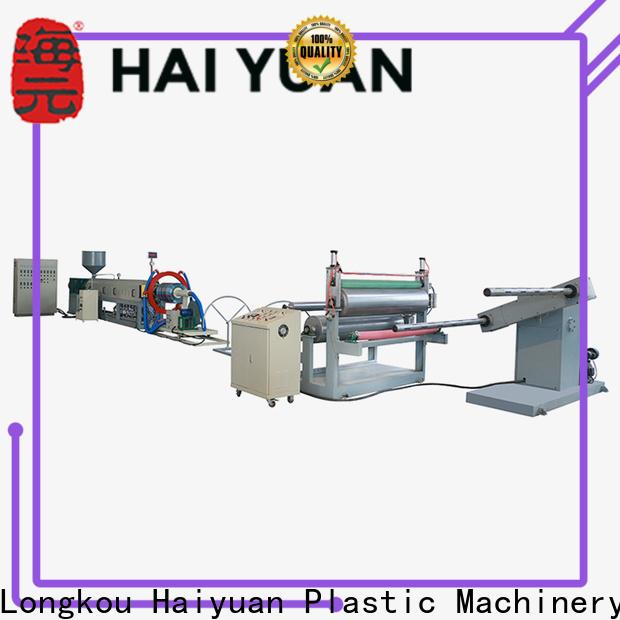 Haiyuan line epe foam sheet machine factory for fast food box
