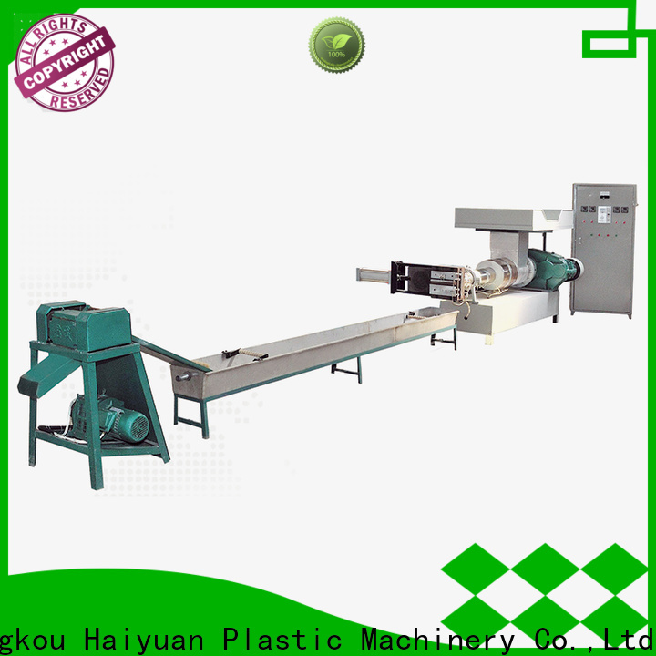 Haiyuan recycling recycling machines for sale company for food box