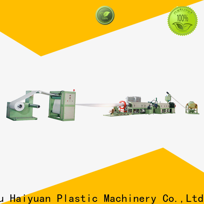 Haiyuan sheet styrofoam making machine factory for take away food