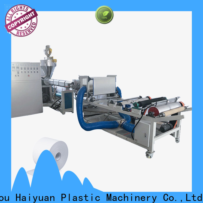 Haiyuan Best meltblown fabric machine suppliers for fast food