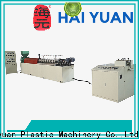 Haiyuan epe epe foam pipe machine suppliers for fast food box