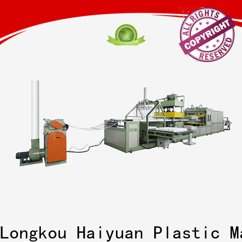 Haiyuan Best disposable absorbent tray machine for business for fast food box