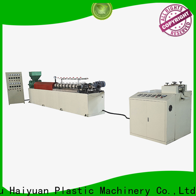 Haiyuan High-quality epe foam pipe/rod/net/extrusion line factory for fast food