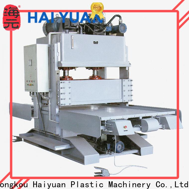 Haiyuan worktables ps foam machine company for take away food