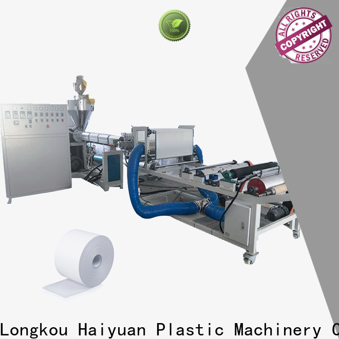 Haiyuan Top melt blown machine price manufacturers for fast food