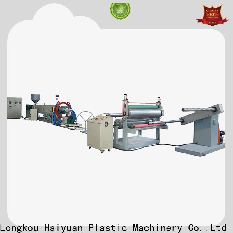 Haiyuan Custom pearl cotton machine company for fast food