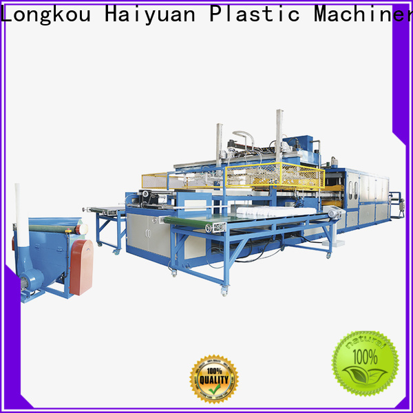 Haiyuan forming plastic vacuum forming machine for sale suppliers for fast food box