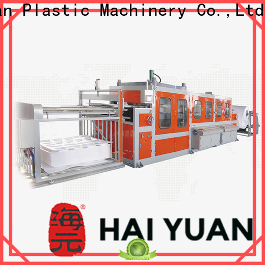 Haiyuan forming cheap vacuum forming machine factory for food box