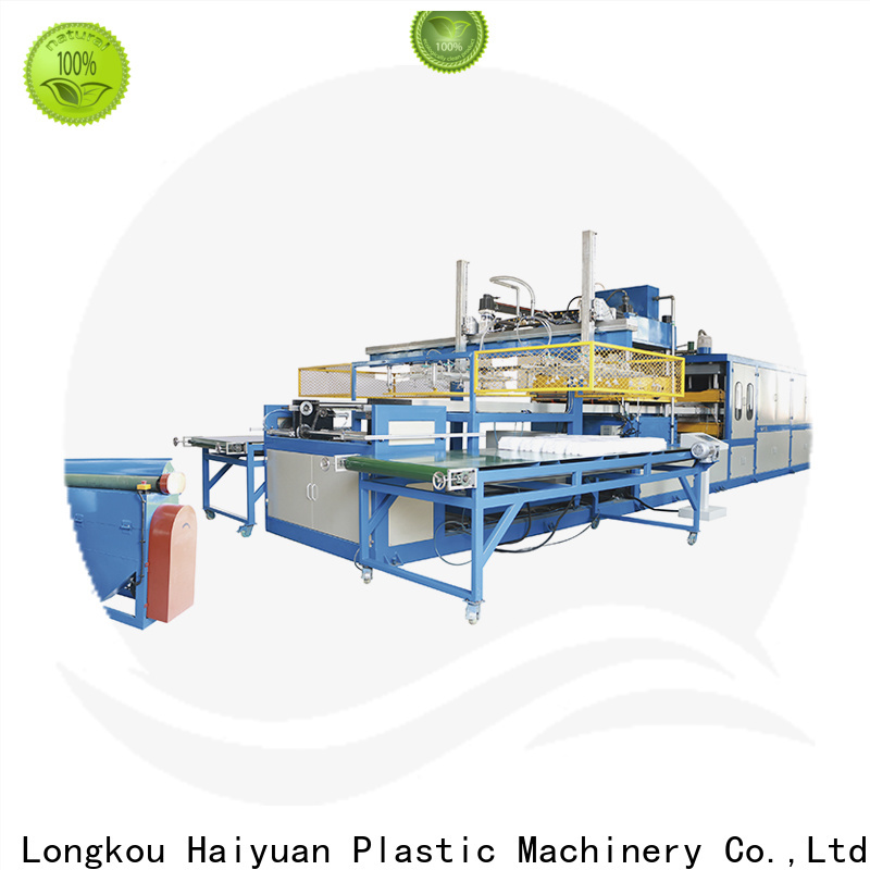 Haiyuan Top best vacuum forming machine supply for fast food