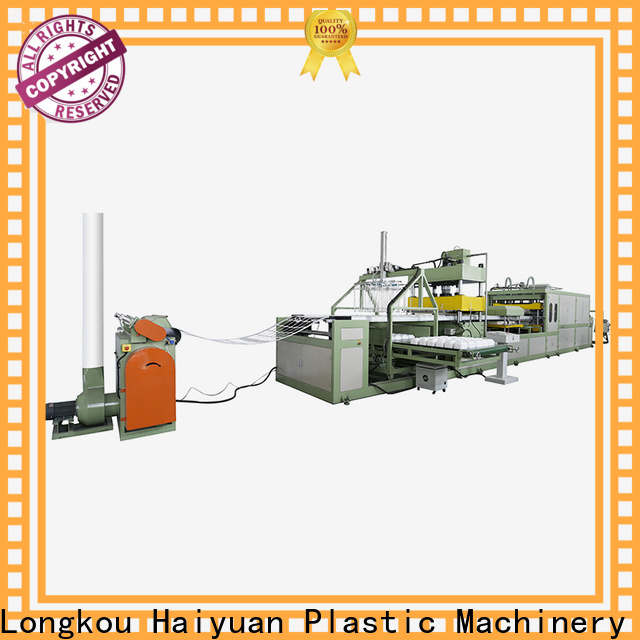 Haiyuan making absorbent tray machine supply for fast food