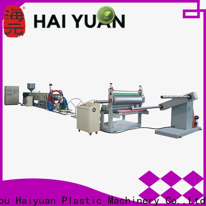 Haiyuan Custom epe foam cloth production line supply for food box