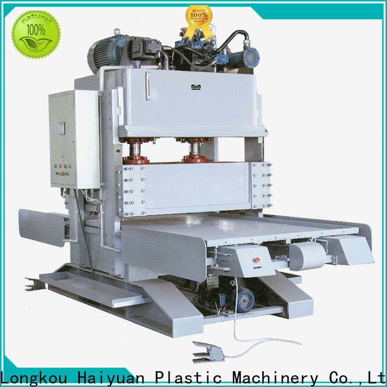 Haiyuan Latest epe foam sheet cutting machine suppliers for take away food