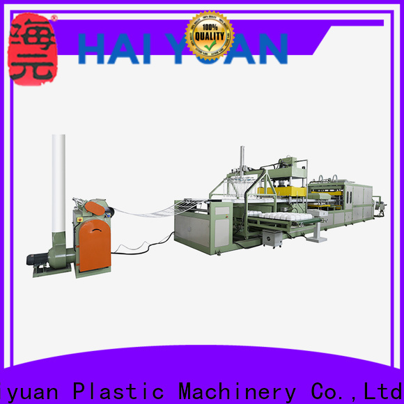 Latest foam absorbent tray making machine making suppliers for fast food