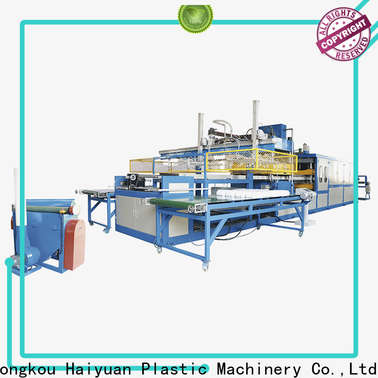 Haiyuan Latest thermocol plate making machine for business for take away food