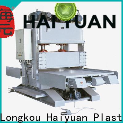Haiyuan double industrial foam cutting machine company for food box