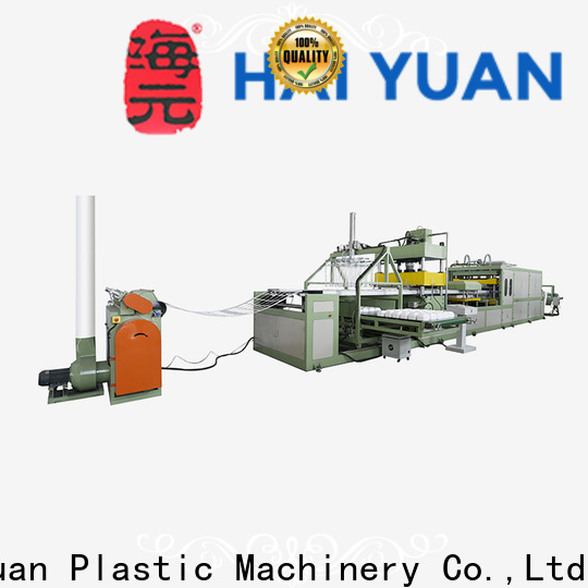Haiyuan High-quality absorbent tray machine suppliers for take away food