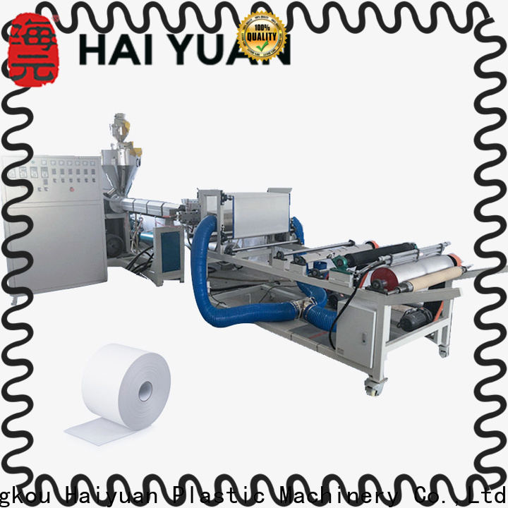 Haiyuan pp melt-blown machine manufacturers for fast food