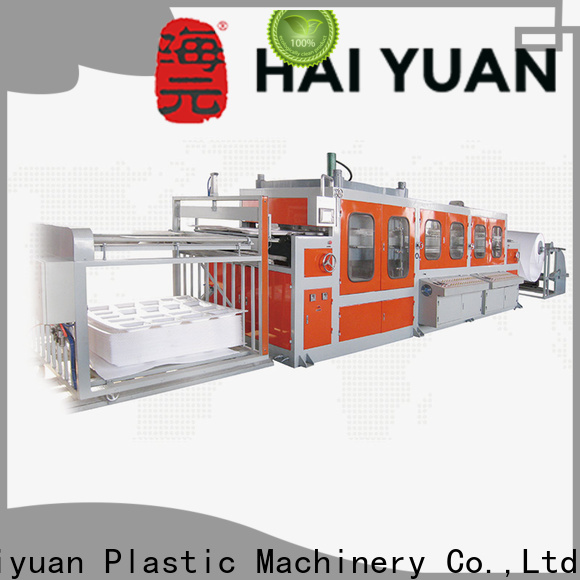 Haiyuan High-quality semi automatic vacuum forming machine supply for fast food