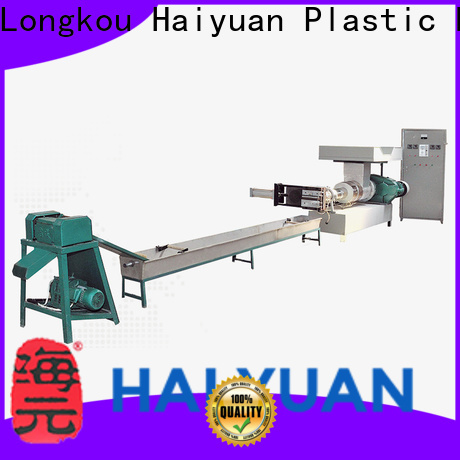 Haiyuan Wholesale plastic recycling machines for sale factory for fast food