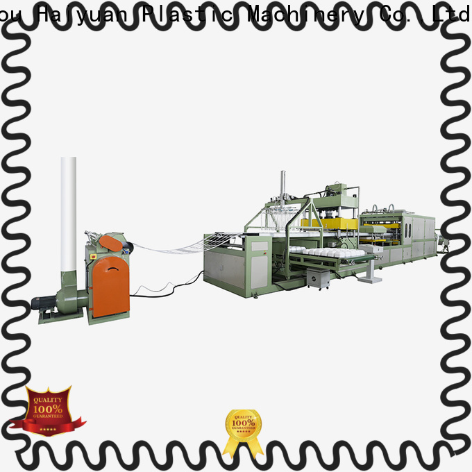 Haiyuan Top foam absorbent tray making machine supply for food box