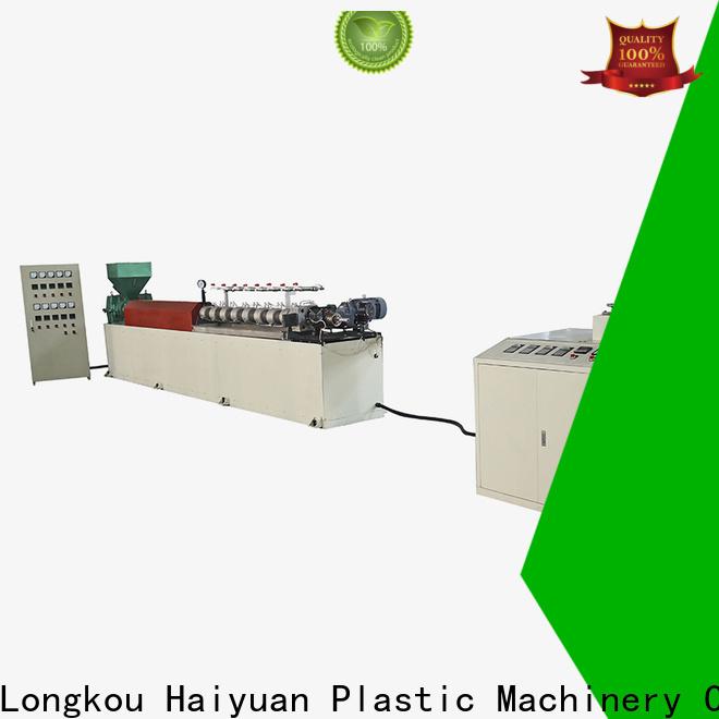 Haiyuan High-quality epe foam rod extrusion line company for take away food