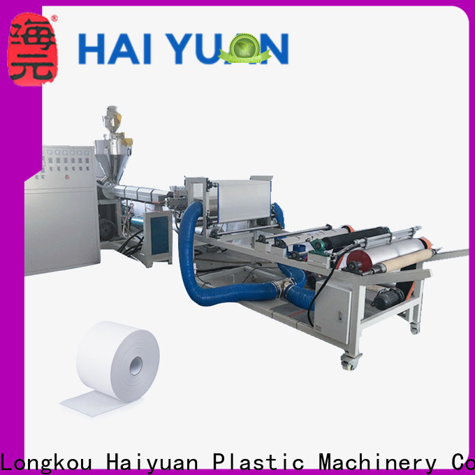 New melt blown fabric machine price machine company for take away food