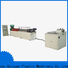 Haiyuan foam epe foam pipe extrusion line company for food box