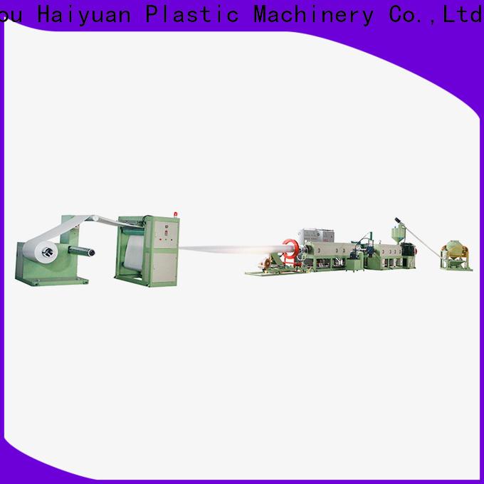 Haiyuan line ps foam sheet machine suppliers for fast food box