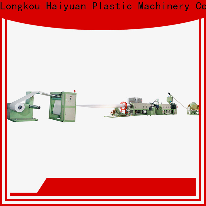Haiyuan foam foam food container making machine manufacturers for fast food