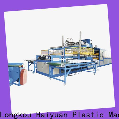 Top large vacuum forming machine vacuum supply for fast food box
