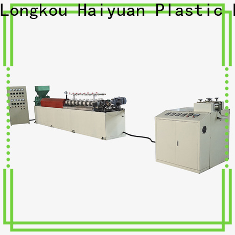 Haiyuan piperodnetextrusion epe foam rod machine manufacturers for fast food