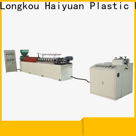 Haiyuan foam epe foam rod extrusion line manufacturers for fast food box