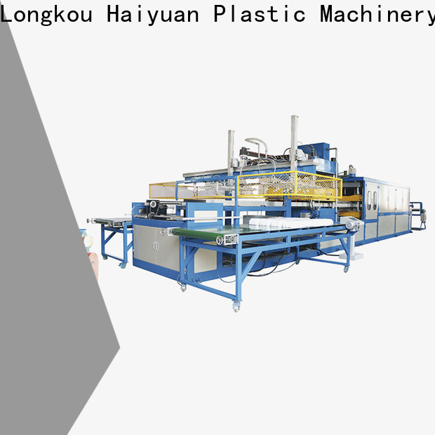 Latest manual vacuum forming machine double company for take away food