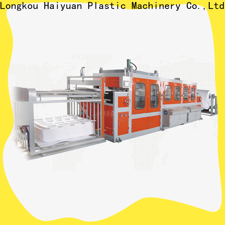 Custom plastic food container machine automatic for business for take away food