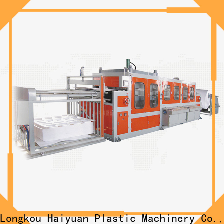 Haiyuan Best small vacuum forming machine factory for fast food