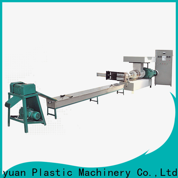 Custom small plastic recycling machine recycling suppliers for fast food box