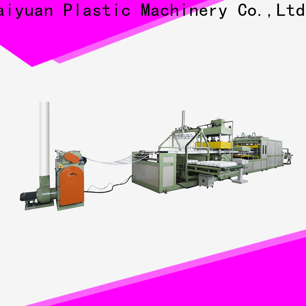 Haiyuan Wholesale absorbent tray machine manufacturers for fast food box