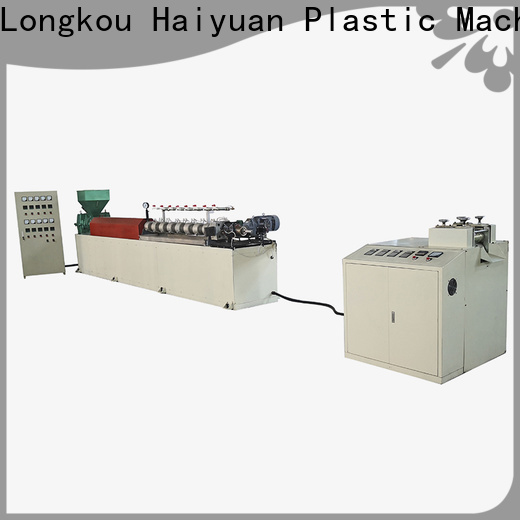 Haiyuan High-quality epe foam pipe/rod/net/extrusion line company for food box