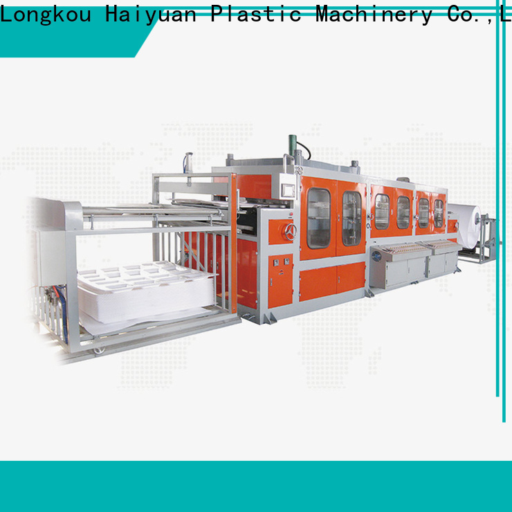 Haiyuan box automatic vacuum forming machine factory for fast food box