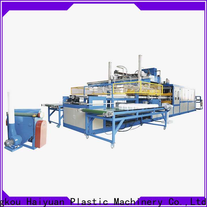 Haiyuan Top manual vacuum forming machine suppliers for fast food