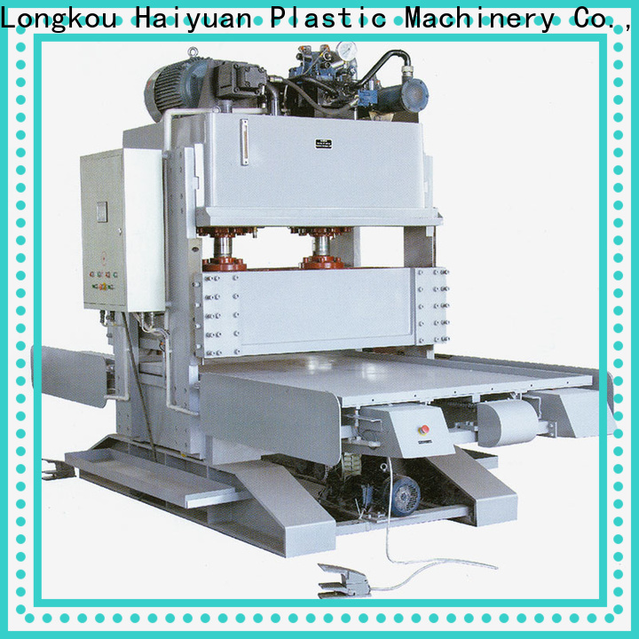 Haiyuan double epe foam sheet cutting machine for business for fast food box